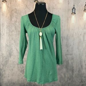 Michael Stars green top- One Size Fits Most